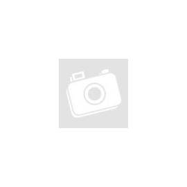 Cuki angyalka rózsás fejdísszel rózsaszín pöttyös szíveken -kicsiben