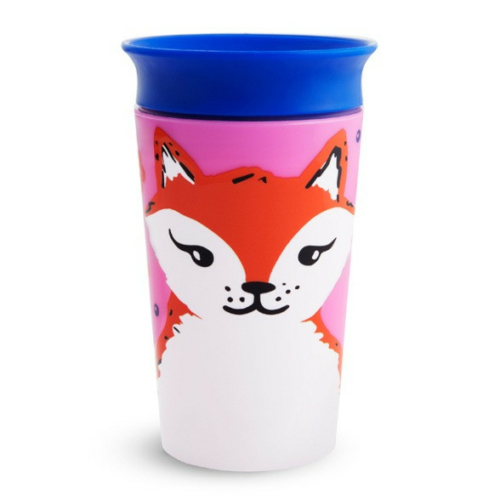 Munchkin Miracle 360 itatópohár 266ml - Wild Love Fox