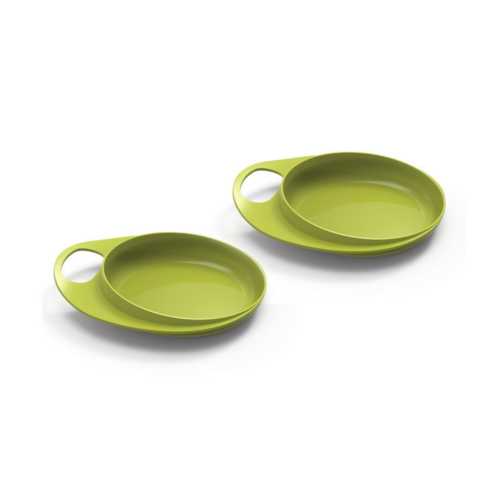Nuvita EasyEating tál 2db - green - 8451