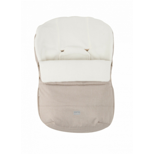 Nuvita AW Ovetto Buggy bundazsák 80cm - Melange Beige / Beige - 9245
