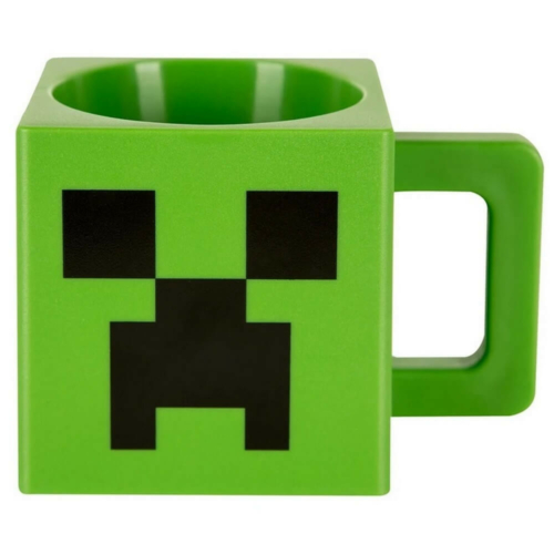 Minecraft bögre, műanyag, 290ml, Creeper