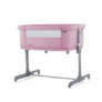 Kép 1/4 - Chipolino Mommy 'n Me szülői ágyhoz csatlakoztatható kiságy - Pink 2020
