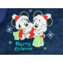 Kép 2/2 - Disney Mickey és Minnie pamut-wellsoft takaró Karácsony (70x90)