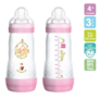 Kép 1/5 - MAM anti colic cumisüveg 320ml 676642