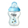 Kép 1/3 - Tommee Tippee Közelebb a természeteshez BPA-mentes cumisüveg 260ml színes kék