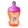 Kép 2/2 - Tommee Tippee Straw Cup szívószálas itatópohár lány 230ml
